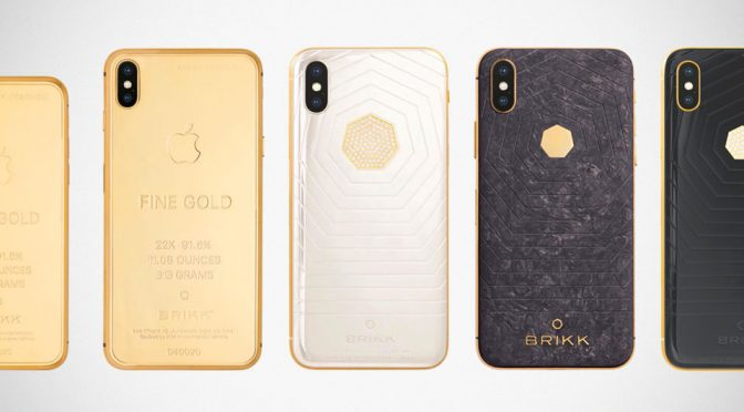Brikk Unveiled A Range Of Super Luxe iPhone XS and XS Max