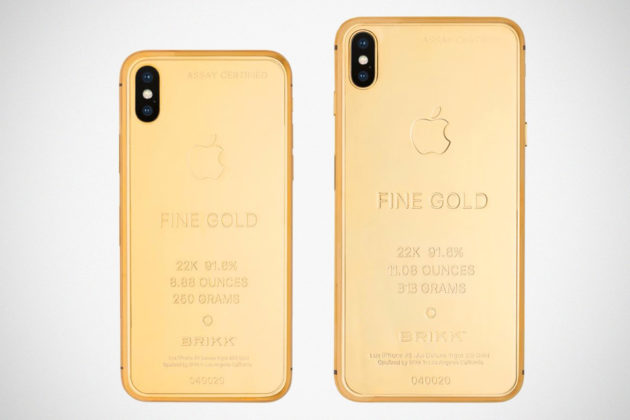 Brikk Lux iPhone Xs and Xs Max Ingot