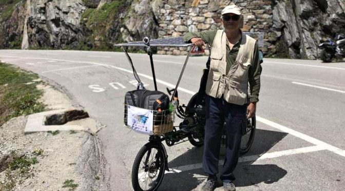 Ching Win Won Traveled 12 Countries On His Company eBike