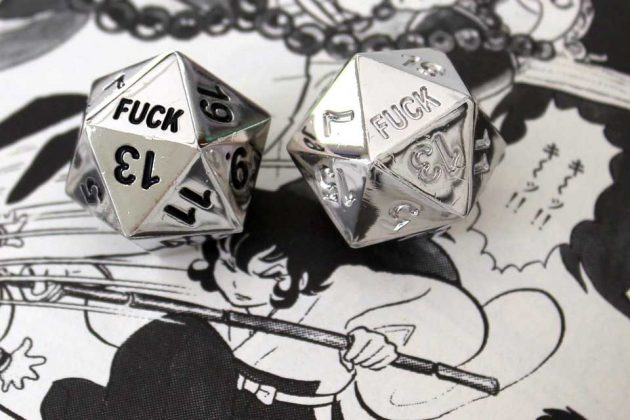 Critical Failure D20 Dice