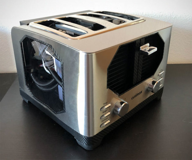 Custom Toaster PC by xXNokkenXx