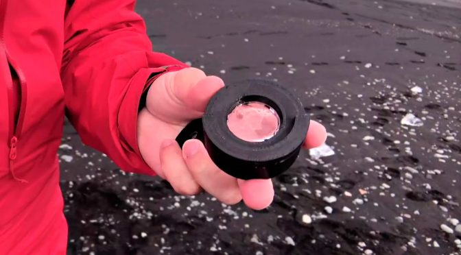 DIY Iceberg Camera Lens by Mathieu Stern