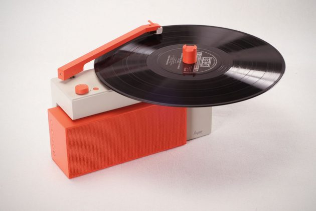 DUO Turntable Bluetooth Speaker System