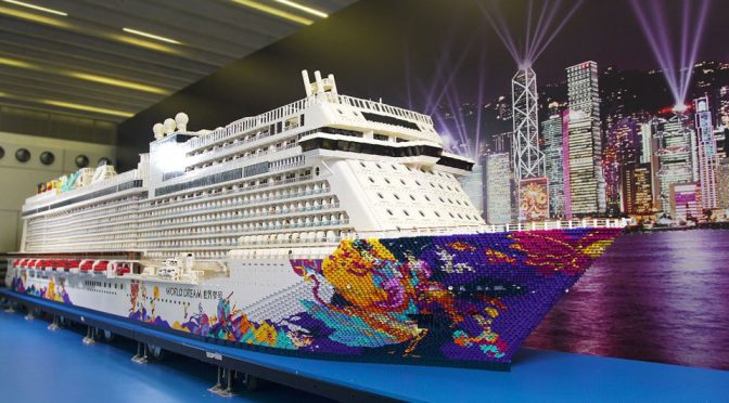 Dream Cruises LEGO Cruise Ship