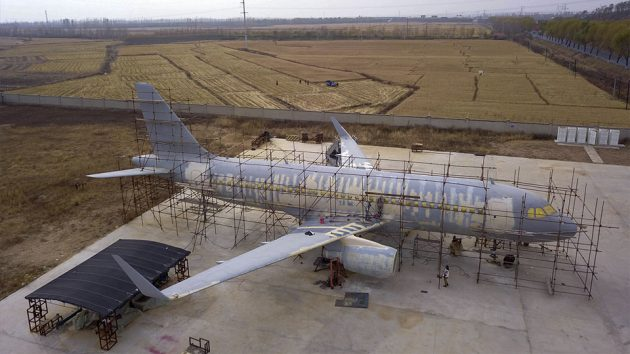 Farmer Built His Own Airbus A320 Aircraft