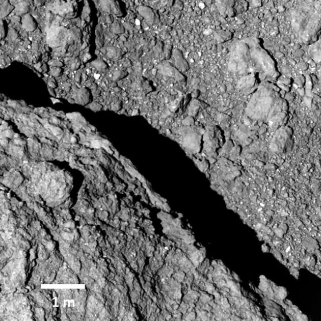 First Images Captured JAXA Rover On Asteroid