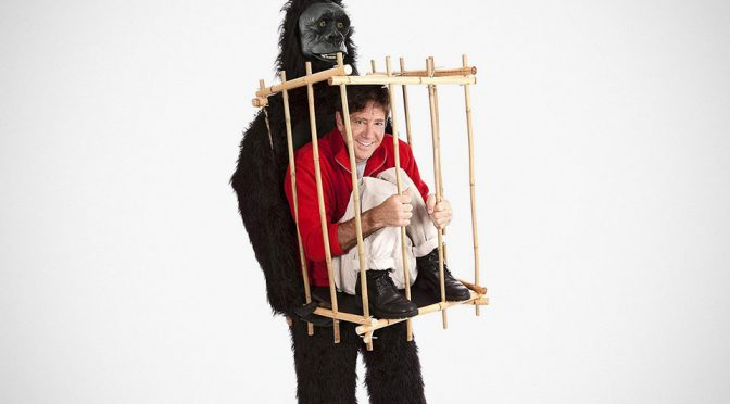 Be A Captive Of A Gorilla This Halloween With This Epic Costume