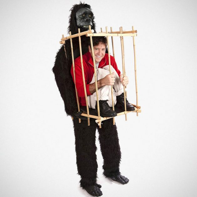 Get Me Outta This Cage Gorilla Costume