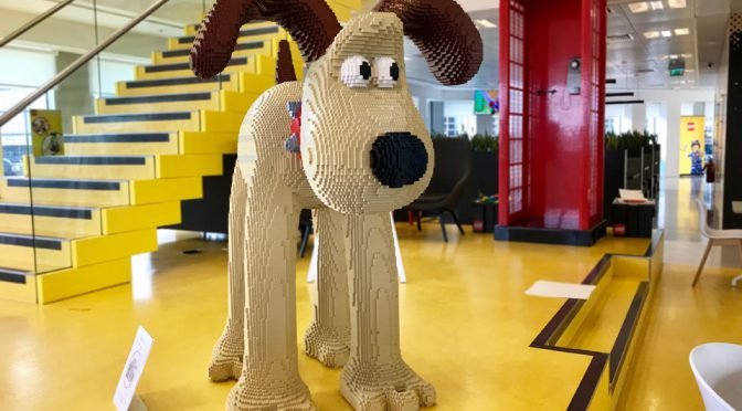 Giant LEGO Gromit Just Contributed £22K To Bristol Children's Hospital
