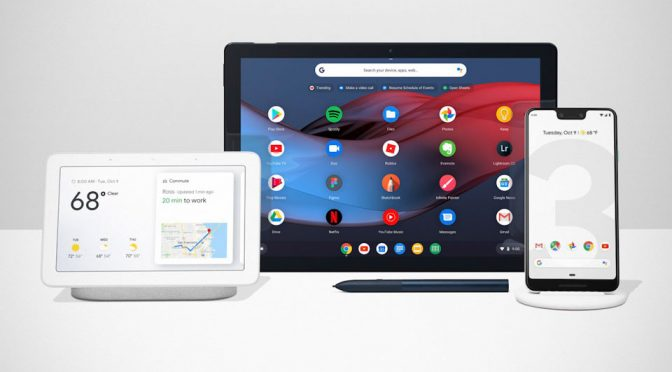Google Pixel 3 Announced Along With Google Slate And Google Home Hub