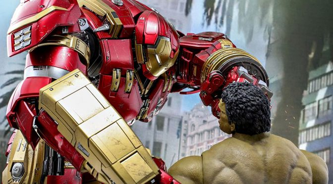 Hot Toys Re-releases 2015 Hulkbuster With New Jackhammer Arm