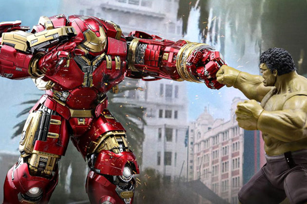 Hot Toys Hulkbuster Deluxe Version