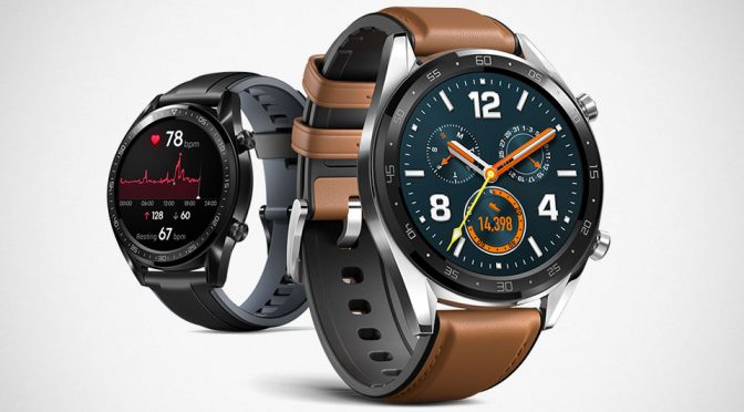 Huawei Watch GT and Band 3 Pro