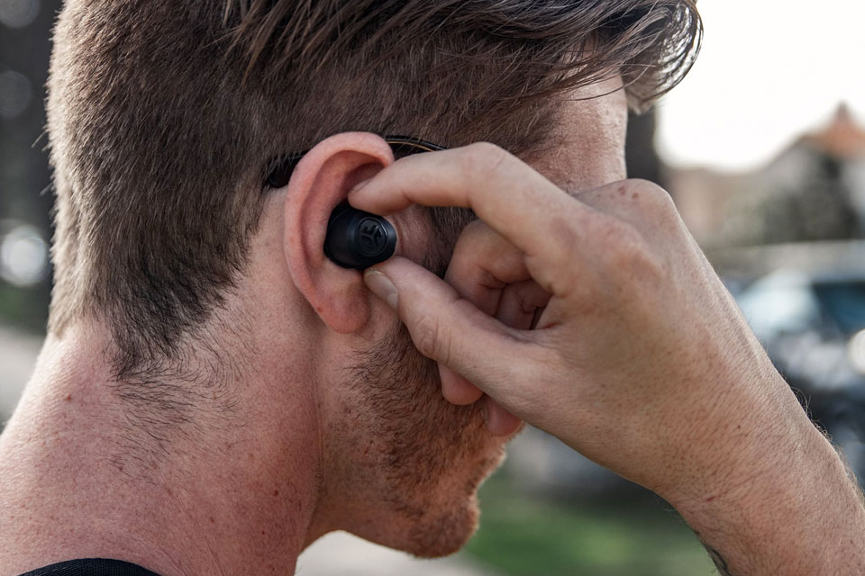 9964a3d98a9 JLab Audio's New True Wireless Earbuds Cost No More Than $50 | SHOUTS