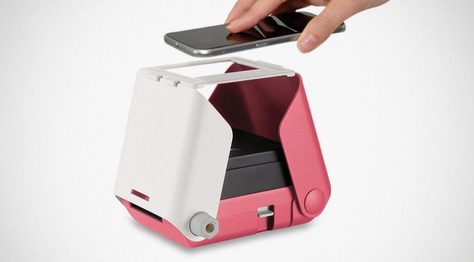 KiiPix Smartphone Picture Printer Is Essentially A Pinhole Camera