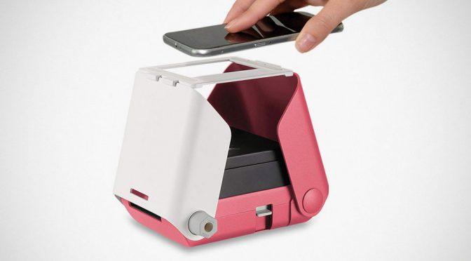 KiiPix Smartphone Picture Printer Is Essentially A Pinhole Camera