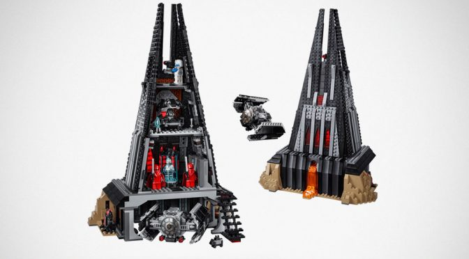 We Did Not See LEGO <em>Star Wars</em> Darth Vader's Castle Coming, But It Is