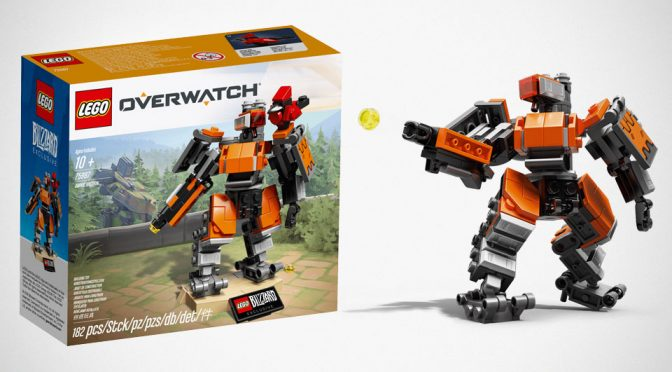 Here's The LEGO <em>Overwatch</em> Omnic Bastion And How You Can Win One