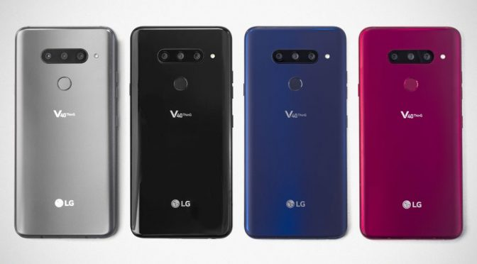 "LG Announced 5-camera LG V40 ThinQ Smartphone And New ""Hybrid Watch"""