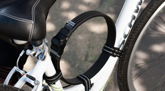 Litelok Silver Secure Bike Lock
