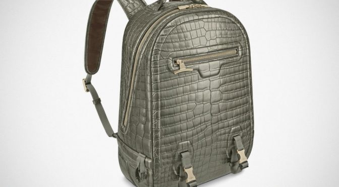 Louis Vuitton Crocodilian Leather Backpack
