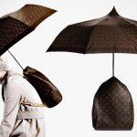 Bizarre Louis Vuitton Backpack Umbrella Hybrid Sold For $1,875