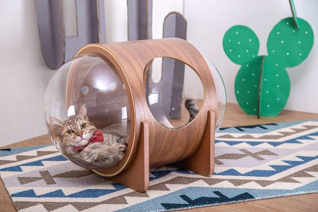 MYZOO Spaceship Cat Beds