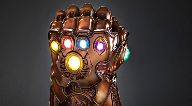 Thanos' Infinity Gauntlet Is Also Good As A Mood Lamp. Like, Who Knew?