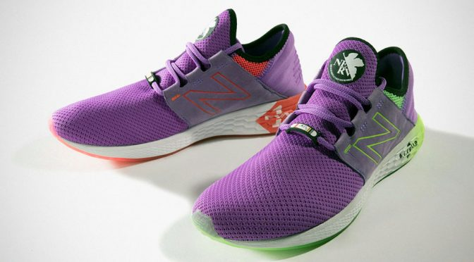 New Balance x Evangelion Fresh Foam Cruz Sneakers