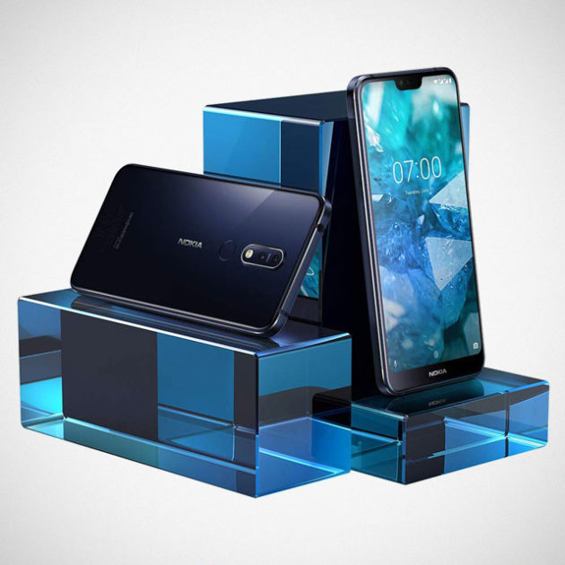 Nokia 7.1 Android Smartphone