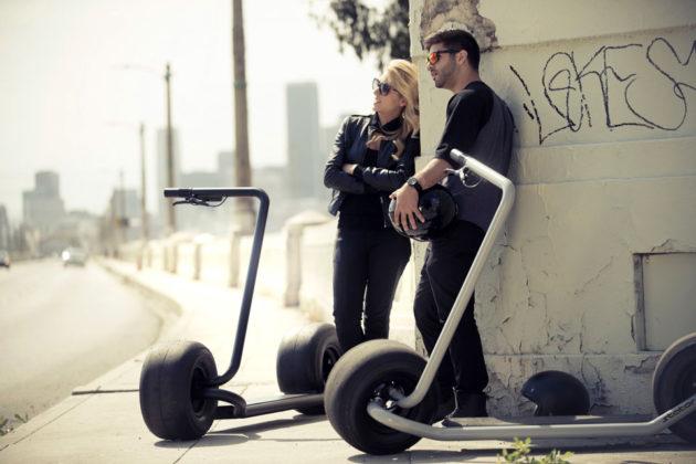 Stator Self-balancing Electric Scooter