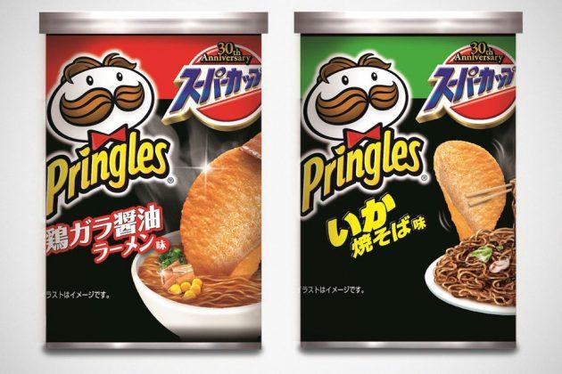 Super Cup Instant Noodles Flavor Pringles
