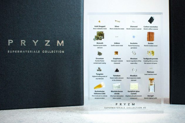 The PRYZM Supermaterials Collection