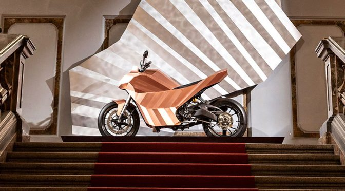 Meet The First Motorcycle With Bodywork Made Of  Copper