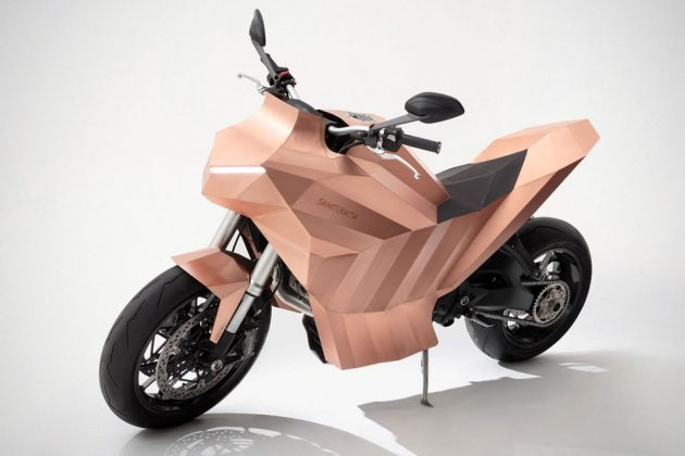Trimarchi Samotracia Copper Motorbike