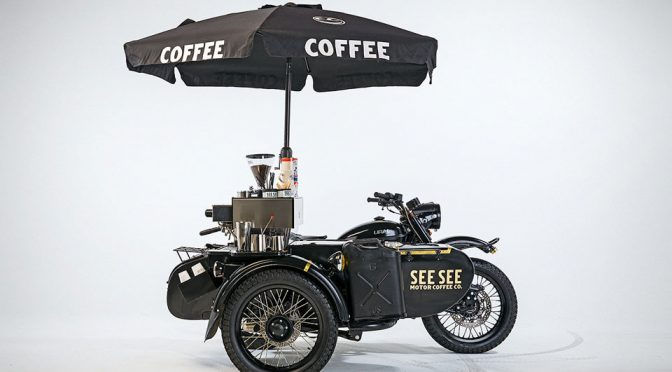 See See Motorcycles' Ural Is A Literal Cafe Racer, Because Coffee Machine