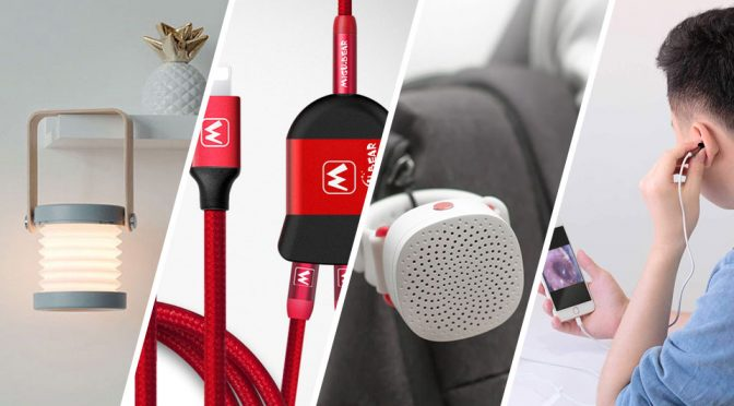 Wrist-worn Bluetooth Speakers, Splicing USB Cable + Random Gift Ideas