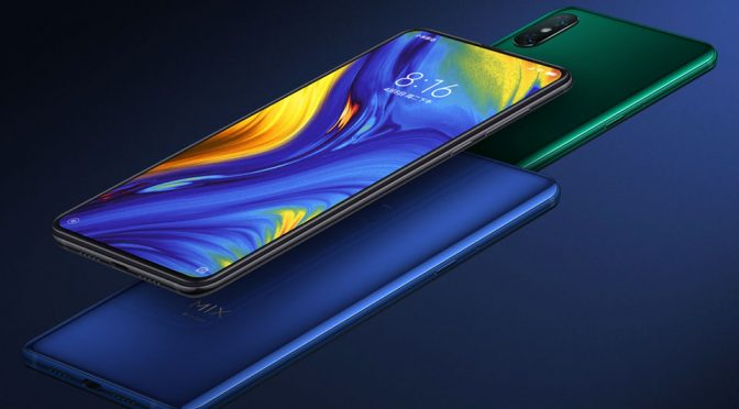 Xiaomi Mi Mix 3 Is All Screen, Has Pop-up Selfie Dual Cameras