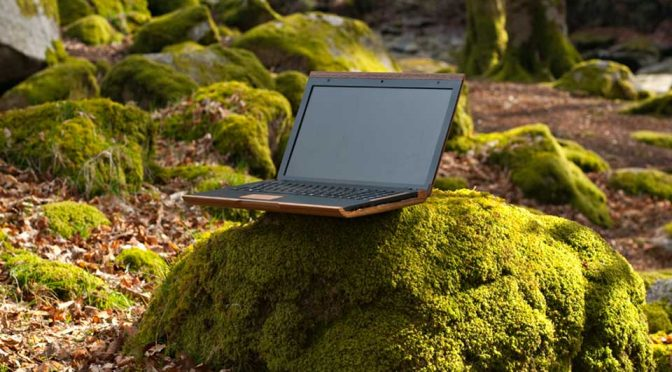 iameco Has A Wooden Laptop That Is Designed To Be Truly Sustainable