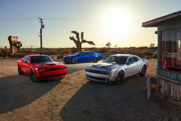2019 Dodge Challenger Line Up