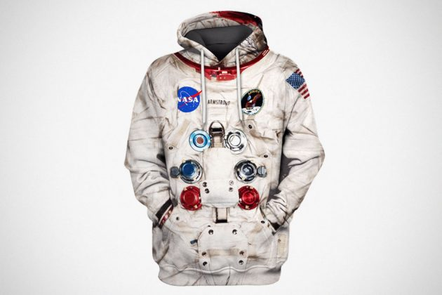 3D Armstrong Space Suit Hoodie