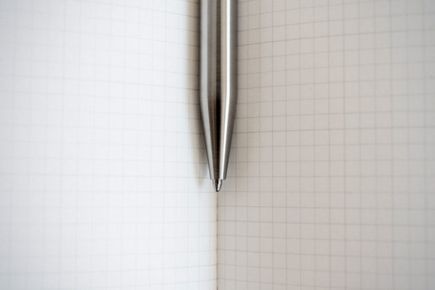 A Minimal Pen by Andrew Sanderson