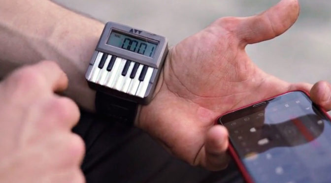 An Italian Company Wants To Put A Synthesizer On Your Wrist For $540