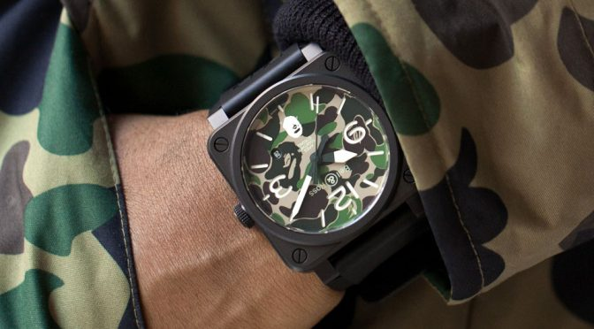 BAPE Marks 25 Years With These Limited Edition Bell & Ross Watches
