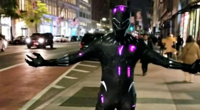 We Found It! We Found The Source To The Best <em>Black Panther</em> Cosplay Yet