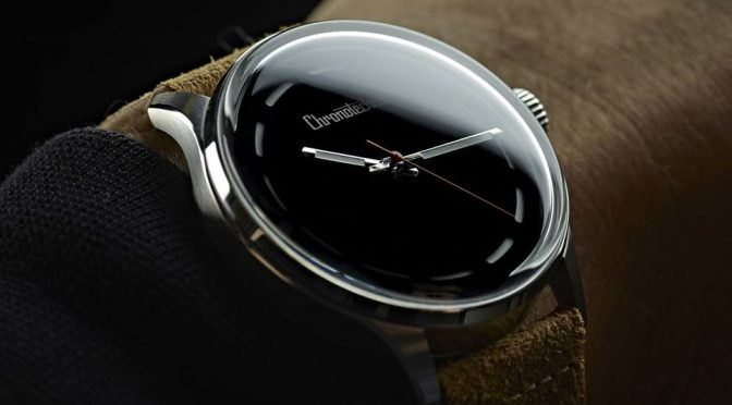 The Blackest Watch Ever Made Has A Dial As Black As The Black Hole