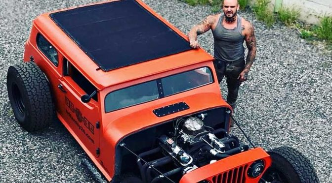 Danton Arts Kustoms Hot Rod Jeep Wrangler