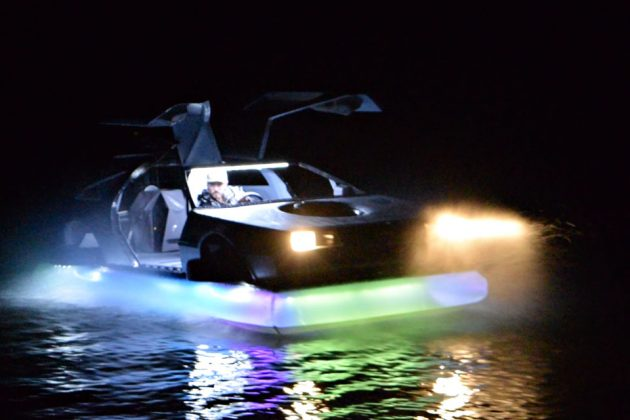 DeLorean Hovercraft Selling on eBay