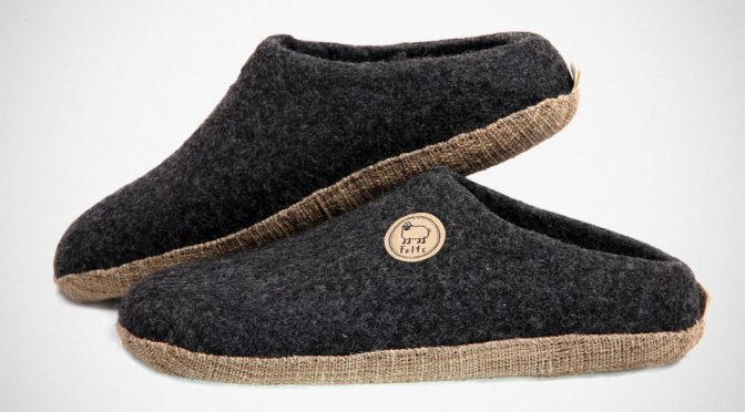 Felts Natural Merino Wool Shoes