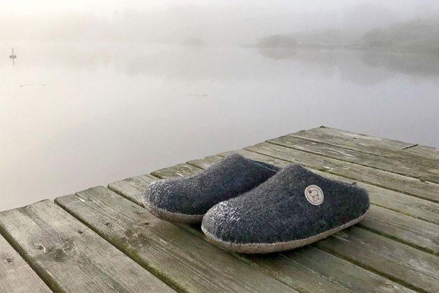 Felts Natural Merino Wool Shoes